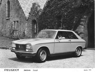 1972 Peugeot 304 Coupe ORIGINAL Factory Photo oua1632