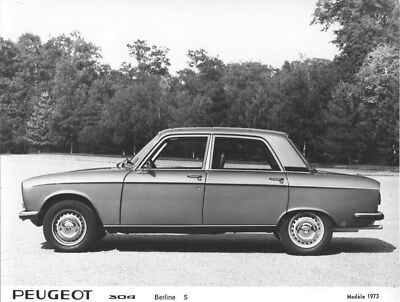 1973 Peugeot 304 Sedan S ORIGINAL Factory Photo oua1652