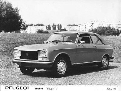 1973 Peugeot 304 Coupe S ORIGINAL Factory Photo oua1659