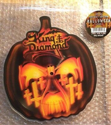 King Diamond SHAPE Halloween +1 * Pic Disc * NEW * L@@k!!! Merciful Fate ⑥⑥⑥ ♫♪♫