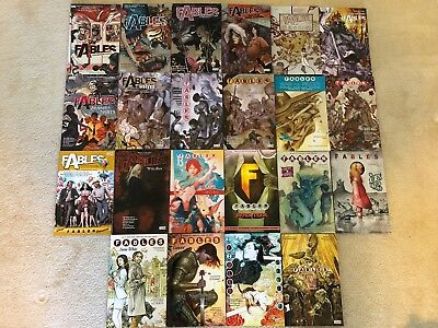 Fables Trade Paperback Collection 1-22