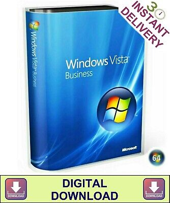 Windows Vista Business 64 Bit Product Key & Disc Boot Re-Install Repair Recovery