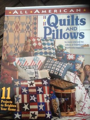 All American Quilts and Pillows Joyce Libal 11 Projects Cat Pillows, Star Pillow