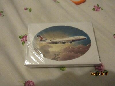 canadian airlines  sealed   b747 playing cards