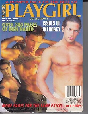 1995 PLAYGIRL COLLECTION 1 MEN 380 PAGES BEEFCAKE THICK MAGAZINE - RARE / m3