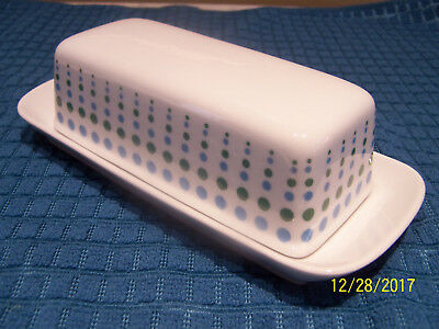 Vintage Harmony House Motif #3906 Covered Butter Dish. Discontinued, Circa 1965
