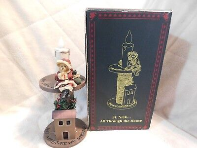 Bearstone Collection ~ St. Nick... All Through the House ~Christmas Boyd's Bears
