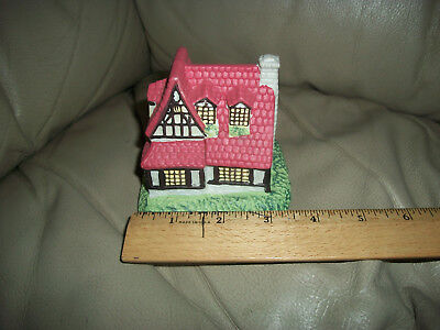 Ceramic Christmas Building Apothecary 4 Inches High
