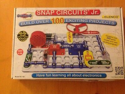 Snap Circuits Jr. Box by Elenco Elctronic toy ages 8 and up