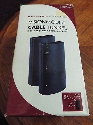 One Pkg BRAND NEW Sanus Systems Visionmount Cable Tunnel VMCTb-01