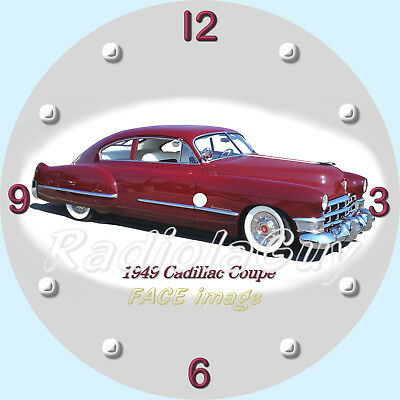 PAM CLOCK FACE - 1949 Cadillac Coupe