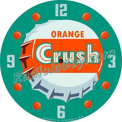 PAM CLOCK FACE - Orange Crush