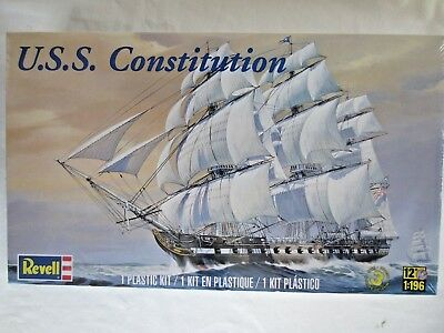 Revell #85-5404 USS Constitution-Old Ironsides- Model Kit 1:196 Scale-New sealed