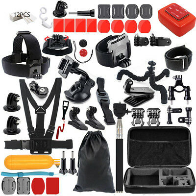 Accessories Kit Mount for Gopro go pro hero 7 6 5 Session 4  SJCAM/Xiaomi yi H9R