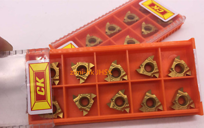US-  100pc 16ERAG60 1020 16ER 3/8 AG60 Threaded turning inserts CNC TOOL Carbide