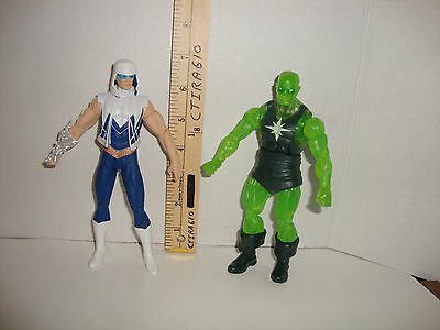 Action Figure Lot Of 2 The New 52 Captain Cold & Marvel Radioactive Man