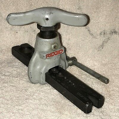 RIDGID FLARING TOOL No 459 - 45 degrees EXCELLENT CONDITION