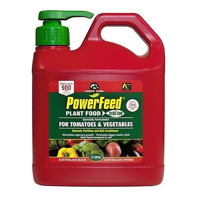 PowerFeed 2L Tomato And Vegetable Liquid Fertiliser Concentrate