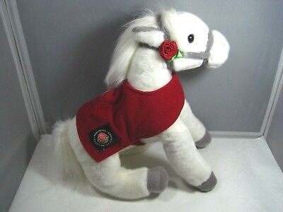Wells Fargo Bank Snowflake White Plush Legendary Rose Parade 2011 Pony Horse