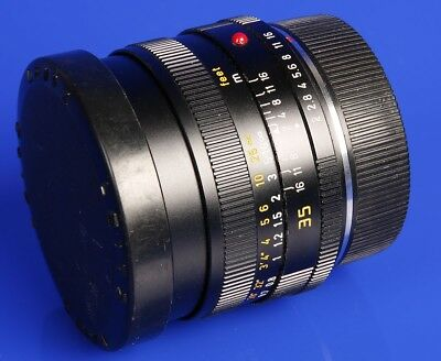 LEICA Summicron R 2/35 TOP! #2996846-Cam 35mm made in Germany TOMS-CAMERA-LADEN