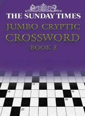 The Times Jumbo Cryptic Crossword Book 3: Bk. 3 By David Akenhead