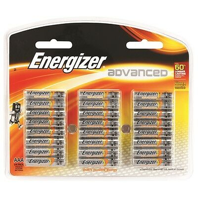 Energizer Advanced AAA Alkaline Batteries - 24 Pack