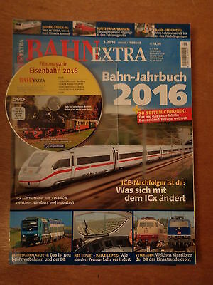 Bahn Extra, Edition 1/2016. with DVD