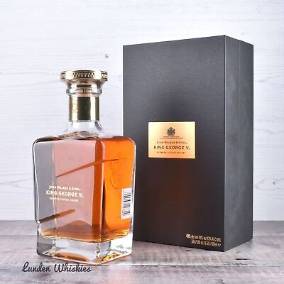Johnnie Walker King George V Blended Scotch Whisky Rare 500ml* Limited Edition