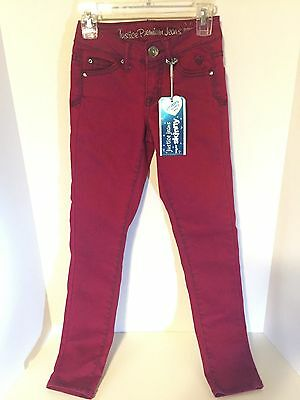 New ~JUSTICE~ Premium Super Skinny Jeans in Red Size 10S