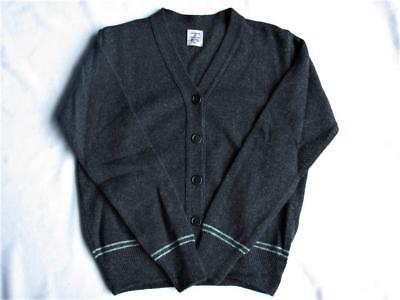 Harry Potter Lochaven GIRL's Youth  SLYTHERIN (Green-Silver) CARDIGAN New