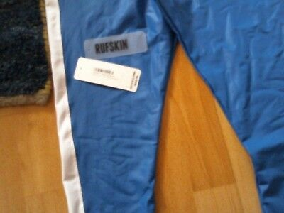 Mens Rufskin  Blue With White Stripe.size Medium Circuit Training Tights
