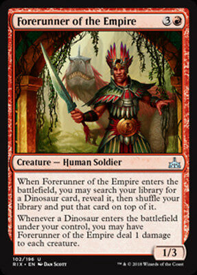 2x Forerunner of the Empire - MTG Rivals of Ixalan - NEW