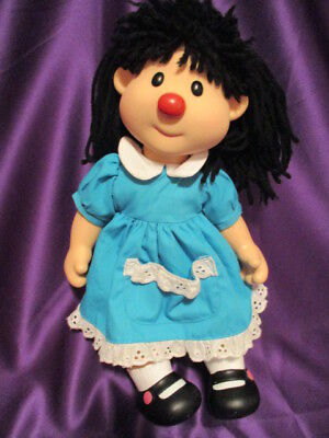 Big Comfy Couch Molly Doll 1996 Vinyl Head Arms Legs Playmates