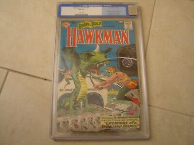 Brave And The Bold #34 First Hawkman/hawkgirl Cgc 3.5! Beautiful Bright Copy!