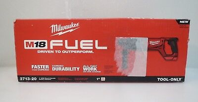 "Milwaukee 2713-20 M18 1"" Cordless SDS Plus D-Handle Rotary Hammer TOOL ONLY"