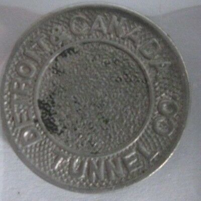 Rare Detroit Michigan Token-MI225K (Detroit & Canada Tunnel Co.)