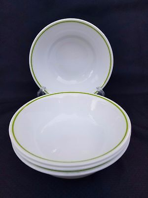 Set of 4 Corelle Corning Strawberry Sundae Spring Meadow Berry Dessert Bowls