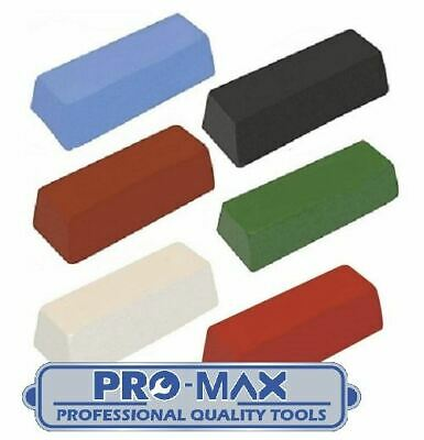 Metal Polishing Buffing Compound Pro-Max Quality 50g - 750g Bars