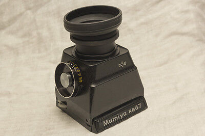 Mamiya RB 67 Chimney Broken Meter sold AS-IS