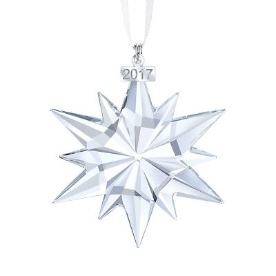 Brand New-Swarovski Crystal 2017 ANNUAL EDITION LARGE CHRISTMAS ORNAMENT 5257589