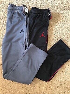 Nike Air Jordan Boy's Sweatpants Therma-Fit Track Pants 952747 Size S, M, L, XL