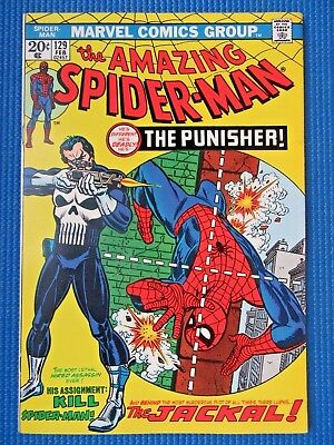 Amazing Spider-Man # 129 - (Nm-) - 1St Appearance Of The Punisher And Jackal