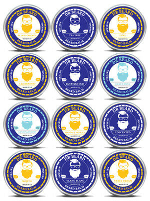 Dr Beard Balm Organic & Skin Conditioning 15ml - Choice of 12 Scents!