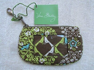 Vera Bradley Clip Zip Id Case Unused With Tags Sittin In A Tree