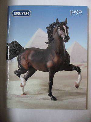 Breyer Model Horse CATALOG 1999 - 66 pages. Barns, Tack, Classics, Draft, Pony