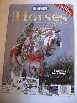 Breyer JAH Just About Horses Magazine 2007 NOV DEC Volume 34 # 6 WINTERSONG