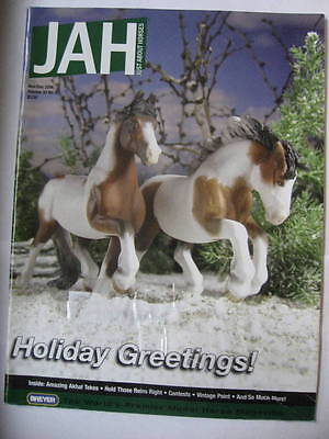 Breyer JAH Just About Horses Magazine 2006 NOV DEC Volume 33 # 6 AKHAL-TEKES