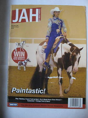 Breyer JAH Just About Horses Magazine 2007 MAY JUNE Volume 34 # 3 ZIPPO PAINT