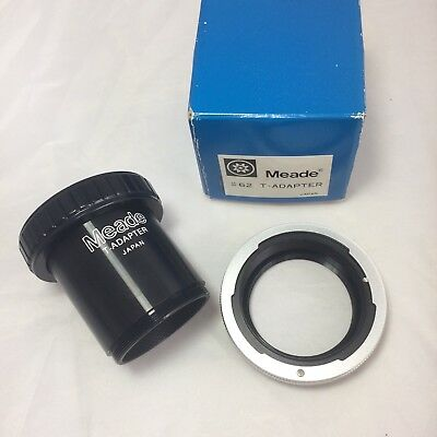 Meade #62 T-Adapter telescope attachment with Canon FD/FL T Mount Ring