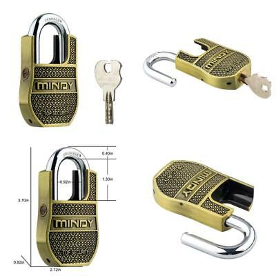 1-Pack Heavy Duty Security Padlock Unique Special Chains With 4 Keys - Medium